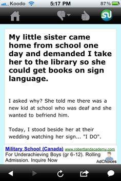 ✿ sign language... ✿