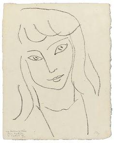 Fillette , Henri Matisse