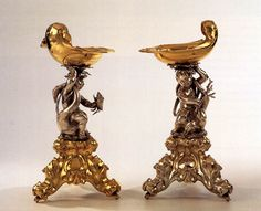 LUTMA, Johannes the Elder Two salts 1639 Silver, parcel-gilt, height 24,2 cm Rijksmuseum, Amsterdam