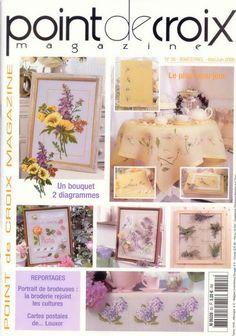 Kniha - Point de Croix Magazine - №55 VYŠÍVANÉ UBRUSY, POLŠTÁŘE, PROSTÍRÁNÍ, OBRÁZKY