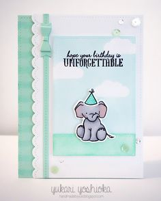 """Unforgettable Birthday"" Card featuring WPlus9   Flickr - Photo Sharing!"