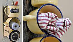 Ideia DIY: O charme da caneca esmaltada