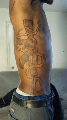 #AK47 #tattoo Tattoo Sleeves, Sleeve Tattoos, Ak47 Tattoo, Tattoos For Guys, Tattoos For Men, Arm Tattoos, Arm Tattoo, Shoulder Sleeve Tattoos, Hand Tattoos