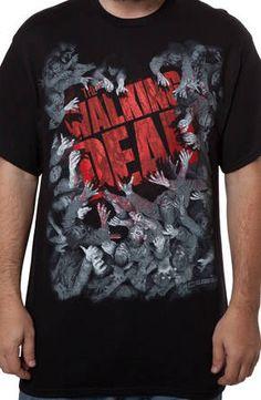 Walking Dead Zombie Attack: TV Shows The Walking Dead T-shirt