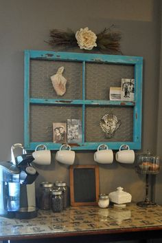 Eeeeee!!!! This project has made me so excited, my own coffee bar!!! My husband and I both love coffee. He typically has a cup in the mor...