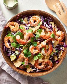 Recipe: Baja Shrimp Taco Salad — Salad Recipes