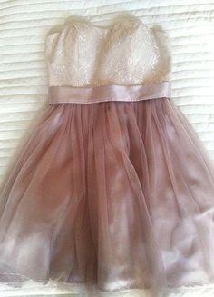 Kupuj mé předměty na #vinted http://www.vinted.cz/damske-obleceni/ostatni/14392983-damske-tylove-saty-nad-kolena-v-barve-champagne-new-yorker