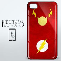 The Flash Superhero iPhone 4 or 4S Case Cover from Funcases
