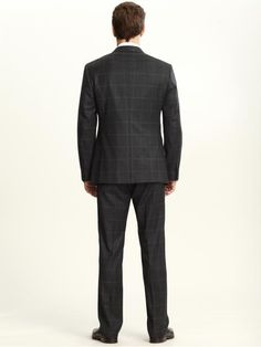 i love windowpane suits for men!