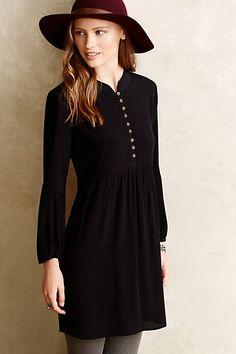 The PERFECT casual black dress. Narva Petite Minidress - anthropologie.com