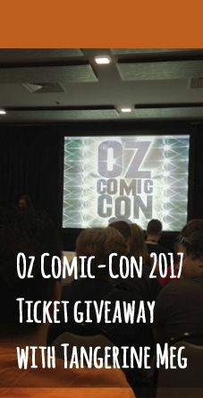 Would you like to win a family pass to Oz Comic Con 2017? I have a family pass to give away - read on to find out how to go in the draw.