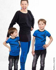 OMMELLINEN-Liisa & Co ottavat Tampereelle mukaan koululaisten kokoja jotain pientä vauvoille - mutta eiköhän se kreisein hulina ja jono synny taas kerran naisten paitojen leggareiden ja mekkojen luo  Kuva repost @ommellinen  #lastenvaatekarnevaali #tampere #ommellinen #madeinfinland #muurame #jyväskylä #fashion #kidsfashion