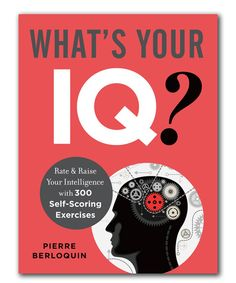 Look what I found on #zulily! What's Your IQ? Paperback by Sterling #zulilyfinds