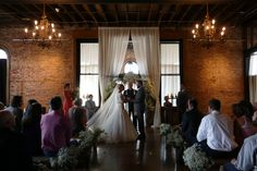 www.crossvinechurch.org The magificent Summer evening wedding of Jayson and Amelia at the historic Church On Main on Chattanooga's Southside! (Photograph by John Wilson of www.weddingphotographics.net). July 11, 2015