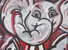 8 Alabama Paintings Ideas University Of Alabama Alabama University