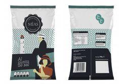 """Visualización rápida de Packaging para nueva marca de Patatas fritas sanluqueñas. """" Las Mías"""" :)"""