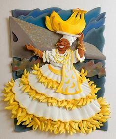 ✯ Carlos Meira's Paper Sculpture ~ Gone Bananas ✯