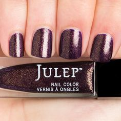 Julep Shailene | Bewitched purple with gold flecks (iridescence)