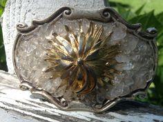 Vintage brooch buckle $240