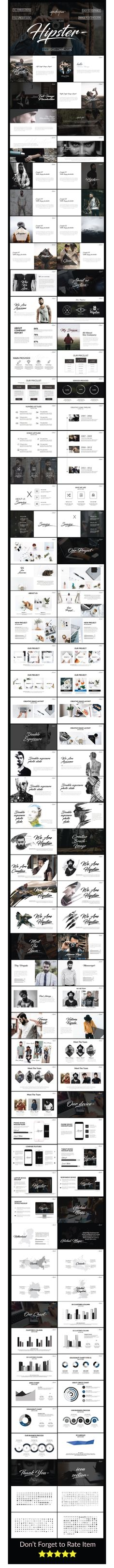 Hipster Powerpoint Presentation Template