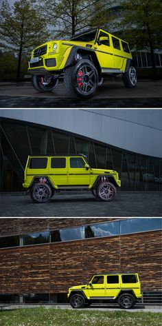 The Mercedes-Benz G-Class (W has long been considered a design icon. Mercedes Benz G Class, Luxury Suv, Future Car, Motor Car, Exotic Cars, Cars And Motorcycles, Cool Cars, Color Pop, Ferrari