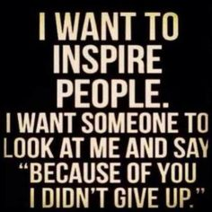 I WANT TO INSPIRE YOU! Feel free to send me a FRIEND REQUEST; I am always posting awesome stuff on my timeline too! www.facebook.com/jacki.priester ☮  If you have Fibromyalgia, please join me for Fibro and weight loss support, great recipes, tips, motivation, and fun at our amazing group: www.facebook.com/groups/FibromyalgiaWeightGainSupportGroup  For more great recipes, tips, motivation, weight loss and fun, join our amazing group at: www.facebook.com/groups/WeAreSlimtastic
