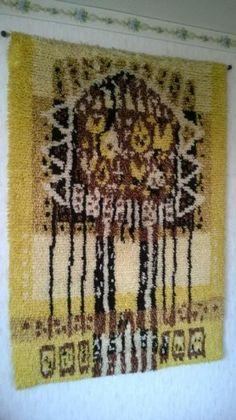 Rya Rug, Floor Cloth, Tapestries, Wall Hangings, Cloths, Flooring, Rugs, Design, Weaving Looms