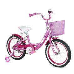 """Turbo, Bicicleta popgirl rosa rodada 16""""   Costco Mexico"""