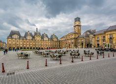 Place Ducale à Charleville-Mézières © Dominique LEMOINE #Ardennes #France