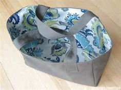 oilcloth lined bag Weekend Crafts, Sewing Tutorials, Sewing Ideas, Oilcloth Bag, Handbags, Tote Bags, Remodeling, Bing Images, Designers