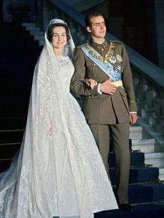 Queen Sofia of Spain née Princess Sophia of Greece - by Jean Dessès - May 14, 1962
