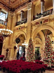 Christmas at the Breakers Mansion in Newport, Rhode Island