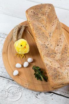 Wśród przepisów na Wielkanoc nie może zabraknąć przepisu na domowy chleb. Moim zdaniem ten przepis na chleb będzie idealnie pasował do wielu potraw wielkanocnych. Jest to jasny chleb pszen... Bread, Ethnic Recipes, Food, Eten, Bakeries, Meals, Breads, Diet