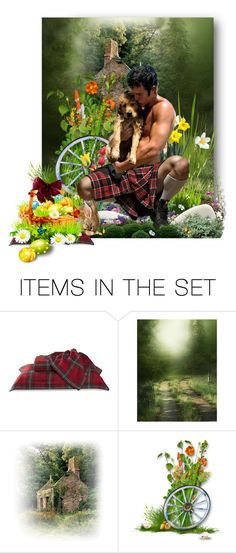 """""""Men in Kilts _ Bad Boy !!"""" by auntiehelen ❤ liked on Polyvore featuring art"""