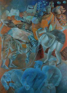 Christ Writes in the Dust . 2011. Methodist Modern Art Collection