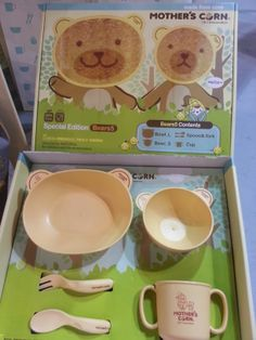 Newest addition. Mother's Corn Bear Family Set. It is a super cute, natural & non-toxic gift for children!