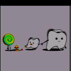 Haha! I'm such a dental hygienist...yeaaa buddy!