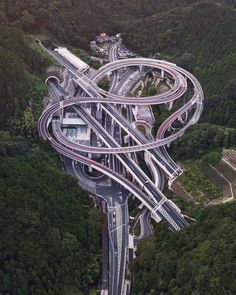 Japan - A civil engineer's dream build - this road network is absolutely incredible!!