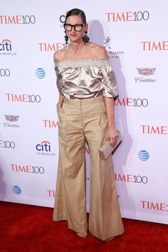 Jenna Lyons attends the 2016 Time 100 Gala, Time's Most Influential People In The World at Jazz At Lincoln Center at the Time Warner Center on April 26, 2016 in New York City. Credit: John Nacion Imaging