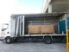 Camion tauliner de 6 metros. Mudanzas y transportes CPT