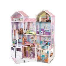 resultado de imagen para casitas de madera para muecas barbie