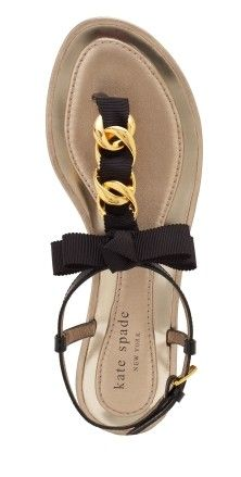 love--no--ADORE--this Kate Spade sandal!!  So feminine...