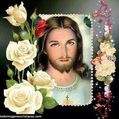 Jesus And Mary Pictures, Pictures Of Jesus Christ, Jesus Christ Painting, Image Jesus, Jesus E Maria, Jesus Loves Us, Jesus Photo, Jesus Mary And Joseph, Jesus Wallpaper