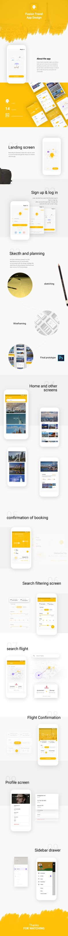 Hello guys,Fusion travel is basically a agency providing a better service for those who are interested in travelling around the world. First we had only the web, later we decided to design an android app to make the journey more easier and comfortable.