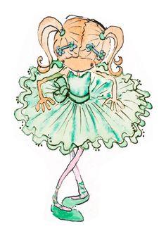 LittleChoux.com - Ellie Ballet Girl