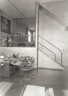 Berlin 1930.Fotobericht Fritz Lang Wohnung Design Bauhaus Berlin-Dahlem