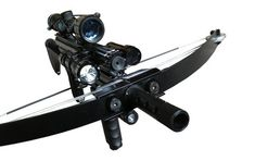 M4 Tactical Crossbow Uses A Red Dot Sight To Find Targets - Gadget Review