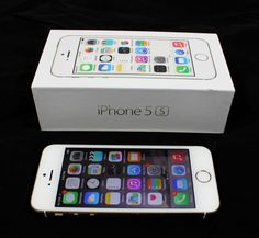 Apple iPhone 5s - 16GB - Space GOLD Unlocked Smartphone ORIGINAL BOX, CLEAN #Apple