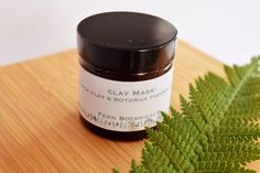 Clay Face Mask, Clay Masks, Black Clay, Homemade Face Masks, Fern, Cleanse, Minerals, My Etsy Shop, Mineral
