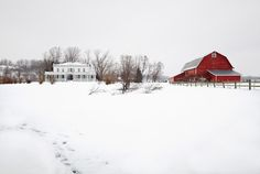 The Beekman Boys' restored farm on 60 acres in upstate New York.